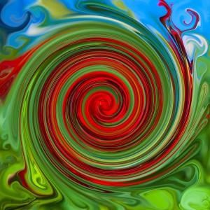 Canna Blossom Swirl