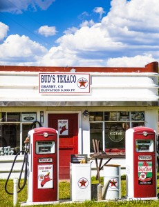Bud's Texaco by Kim Robbins