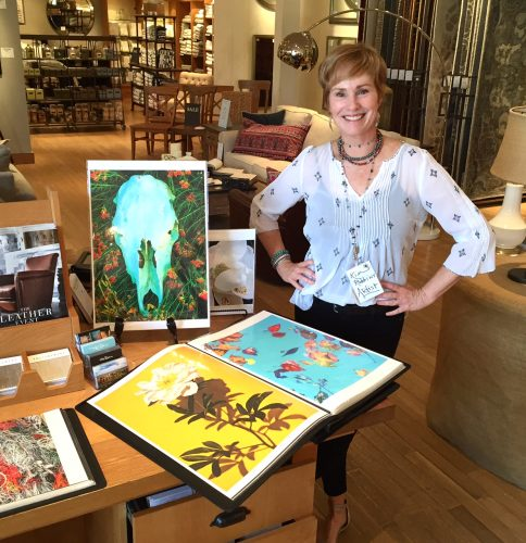 Pottery Barn Featured Artist Kim Robbins