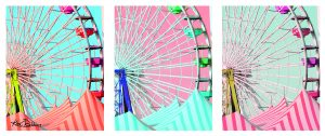 Ferris Wheel Tryptic