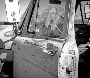 Ford Cab Black & White