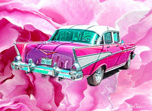 Cotton Candy Car